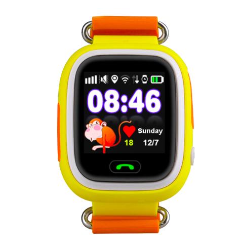 Детские GPS часы-телефон  Q100/Q90 (Желтый)