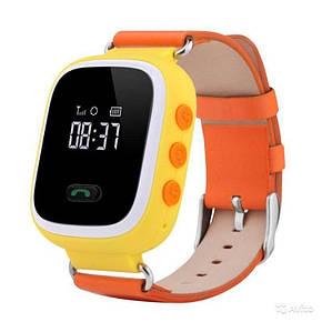 Детские GPS часы-телефон  Q100/Q90 (Желтый), фото 2