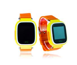 Детские GPS часы-телефон  Q100/Q90 (Желтый), фото 3