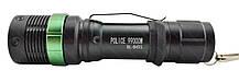 Тактический ручной фонарик Police BL-8455 с зуммом и клипсой, фото 3