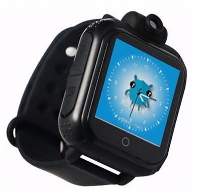 Детские Smart часы Baby watch Q200 (TW6) 1.54' LED + GPS трекер (Черный)