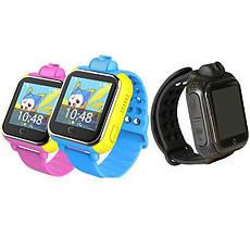Детские Smart часы Baby watch Q200 (TW6) 1.54' LED + GPS трекер (Черный), фото 2