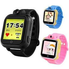 Детские Smart часы Baby watch Q200 (TW6) 1.54' LED + GPS трекер (Черный), фото 3