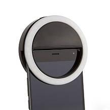 Вспышка-подсветка для телефона селфи-кольцо SmartTech XJ-01 Черный, фото 2