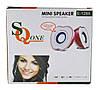 """Колонки """"Яблоко"""" для PC Dellta 2.0 USB 128X/028A красные, фото 4"""