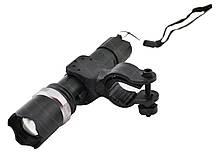 Велосипедный фонарик BL T 8628 Q5 с креплением на руль, фото 3