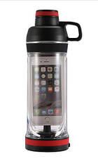 Бутылка для воды с отделением для телефона 5s, фото 3