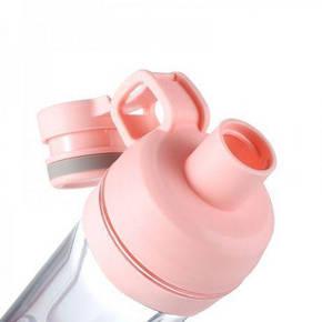Бутылка для воды с отделением для телефона 5s Розовый, фото 2