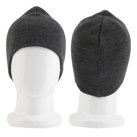 Bluetooth шапка Music Hat с гарнитурой темно-серая, фото 2