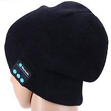 Bluetooth шапка Music Hat с гарнитурой Black, фото 2