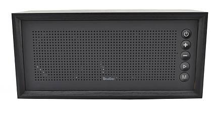 Портативная деревянная акустика OneDer V2 Bluetooth колонка Wireless Speaker, фото 2
