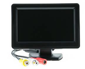"""Монитор автомобильный UKC TFT LCD 4,3"""" для двух камер, фото 2"""