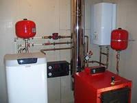 Монтаж котлів на всіх видах палива,лічильників газу, водогонів, систем опалення.