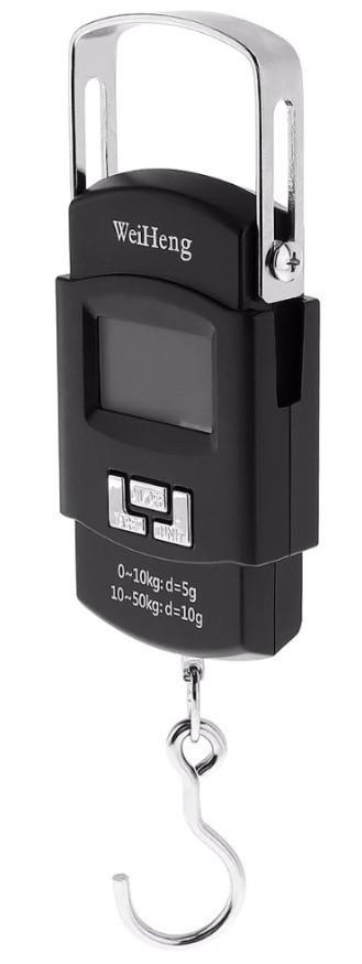 Весы ручные кантер электронные до 50 кг WeiHeng WH-A08