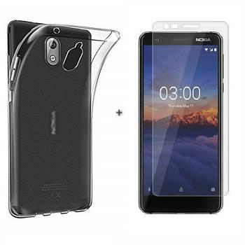 Чехол + Стекло Nokia 3.1 (Комплект)
