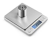 Ювелирные электронные весы MH-267 с 2-мя чашами 0,1-2000 грамм, фото 3