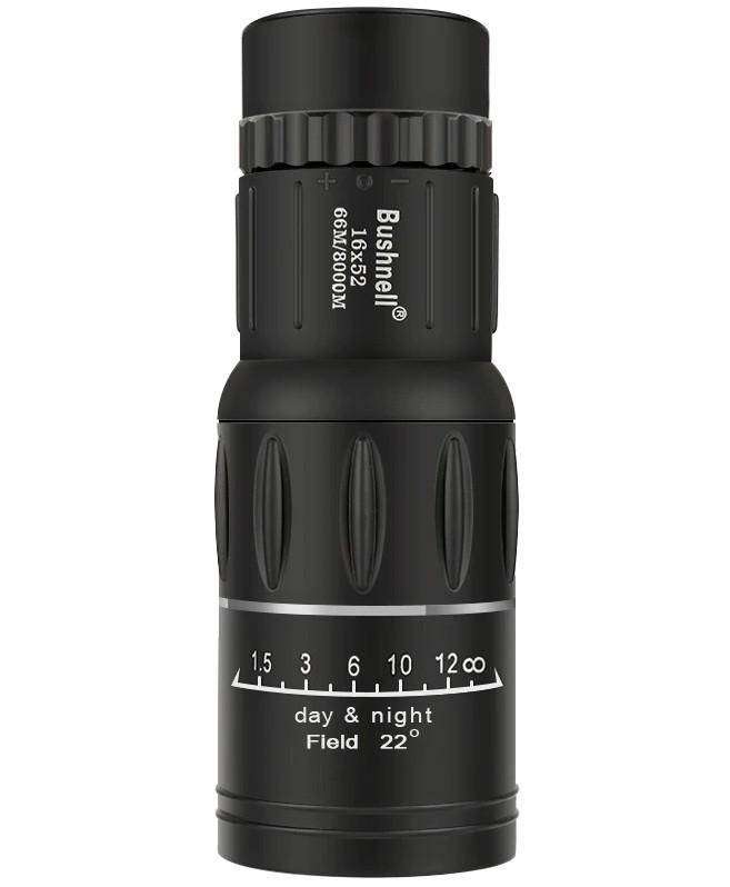 Монокуляр BUSHNELL 2675-5 16x52 с двойной фокусировкой + чехол