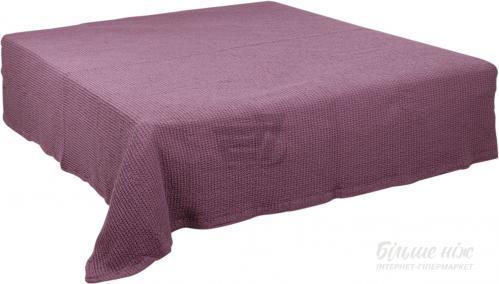 Плед пике 240x260 см светло-фиолетовый BILTEX