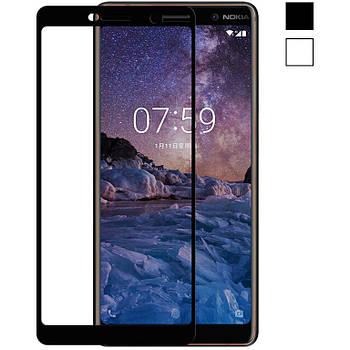 3D Стекло Nokia 7 Plus – Full Cover
