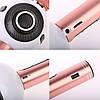 Бездротовий мікрофон-караоке WSIER WS-878 Біло-рожевий, фото 2