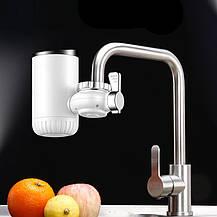 Проточный электрический водонагреватель на кран UKC RX-013 (4818), фото 2