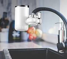 Проточный электрический водонагреватель на кран UKC RX-013 (4818), фото 3
