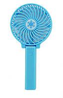 Вентилятор міні Handy Mini Fan,вентилятор USB Blue