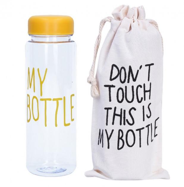 Бутылка для напитков MY BOTTLE 300 мл бутылка + чехол Yellow
