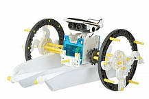 Конструктор на солнечных батареях Solar Robot робот 14 в 1, фото 3