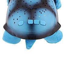 """Ночник Turtle """"Музыкальная черепаха"""" синяя, фото 3"""