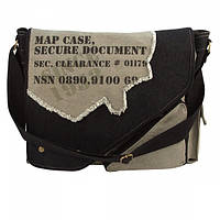 Сумка тактическая Rothco Vintage Canvas Two-Tone Imprinted Map Bag