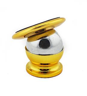 Магнитный держатель для телефона UKC CT690 Gold, фото 2
