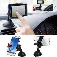 Универсальный автомобильный держатель для телефона UKC 1017, фото 3