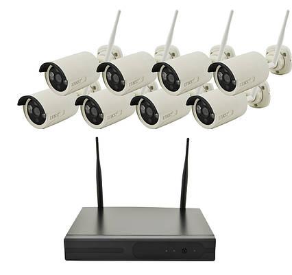 Комплект видеонаблюдения DVR KIT CAD 8008 WiFi 8ch набор на 8 камер, фото 2