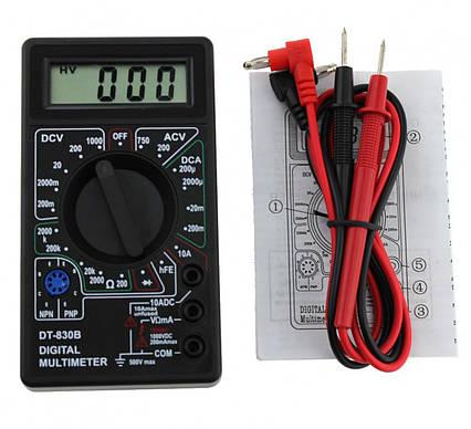 Цифровой мультиметр, тестер DT-830B, фото 2