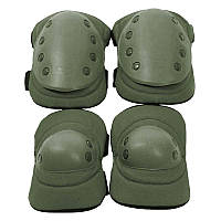Комплект тактический (налокотники + наколенники) U.S.Army, олива