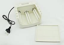 УФ лампа для нігтів 36Вт сушарка для нігтів з таймером ZH-818A бежевий, фото 3