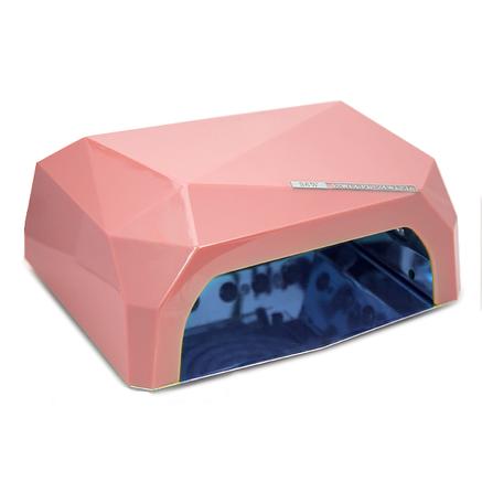 Гибридная ультрафиолетовая CCFL+LED лампа 36W UKC жемчужно-розовый, фото 2