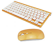 Беспроводный комплект (клавиатура и мышка) ZYG 902, фото 3