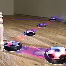 Футбольный мяч для дома с подсветкой Hoverball Black, фото 3