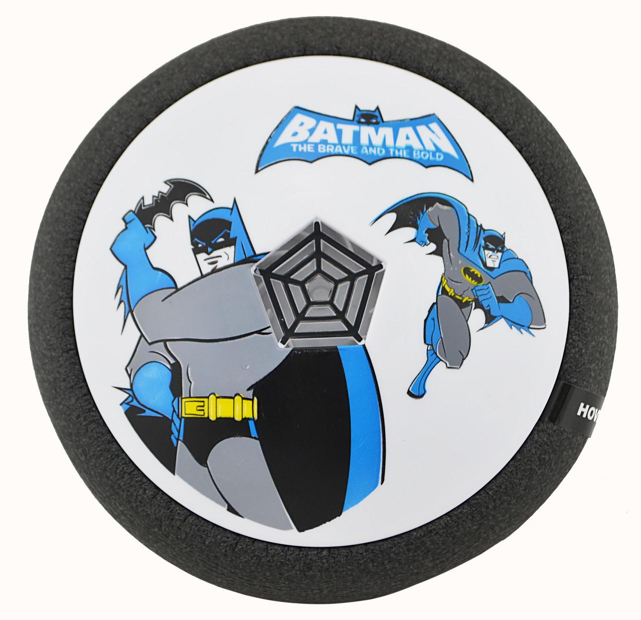 Футбольный мяч футболайзер для дома с подсветкой и музыкой Hoverball Batman