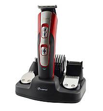 Бритва, машинка для стрижки Gemei GM592 10 в 1 Red, фото 2