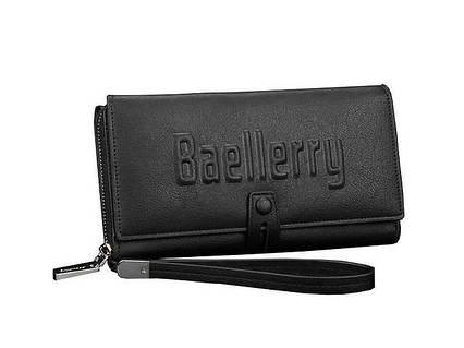 Мужское портмоне Baellerry S1393 черный, фото 2