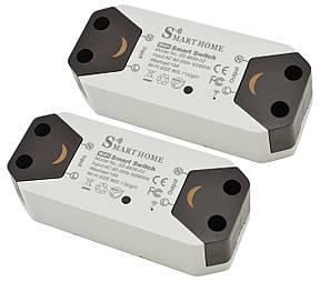 Беспроводной WiFi включатель/выключатель Smart Home SS-8839-02 220V 10A/2200W (2 шт), фото 2