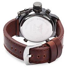 Мужские часы AMST AM3003 темно-коричневые, фото 3