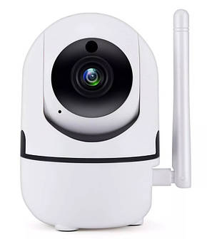 Беспроводная поворотная IP камера WiFi microSD UKC Y13G 1mp с распознаванием лиц, фото 2