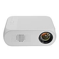 Мультимедийный портативный мини проектор Projector YG320 White