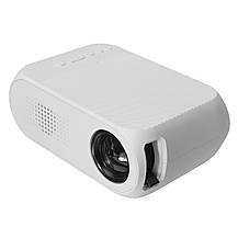 Мультимедийный портативный мини проектор Projector YG320 White, фото 3