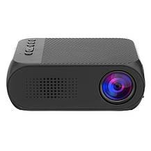 Мультимедийный портативный мини проектор Projector YG320 Black, фото 3