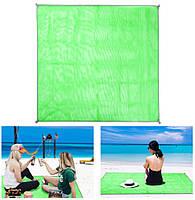 Пляжный коврик антипесок Sand-free Mat Green